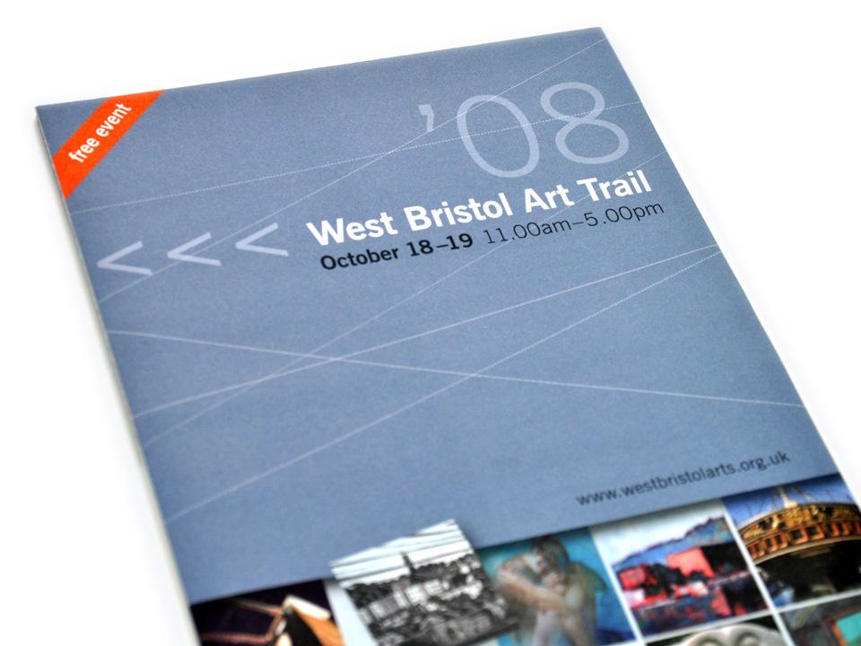 West Bristol Arts Trail A5 broadsheet guide