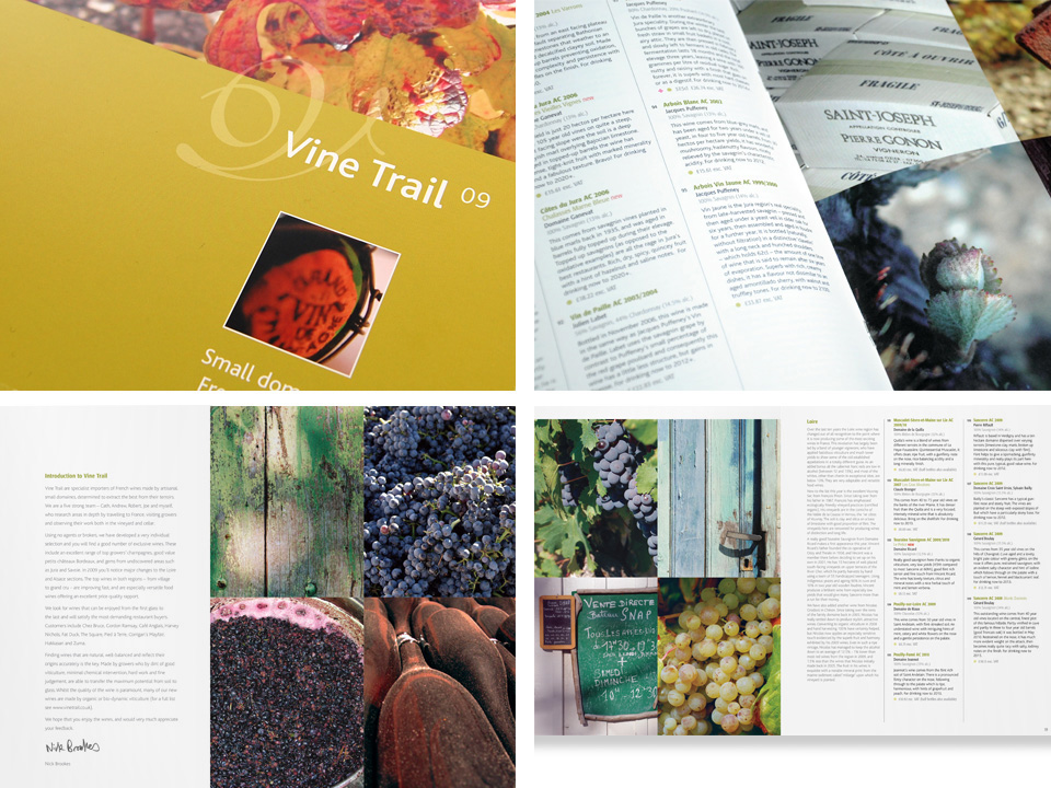 Vine Trail brochure images and DPS