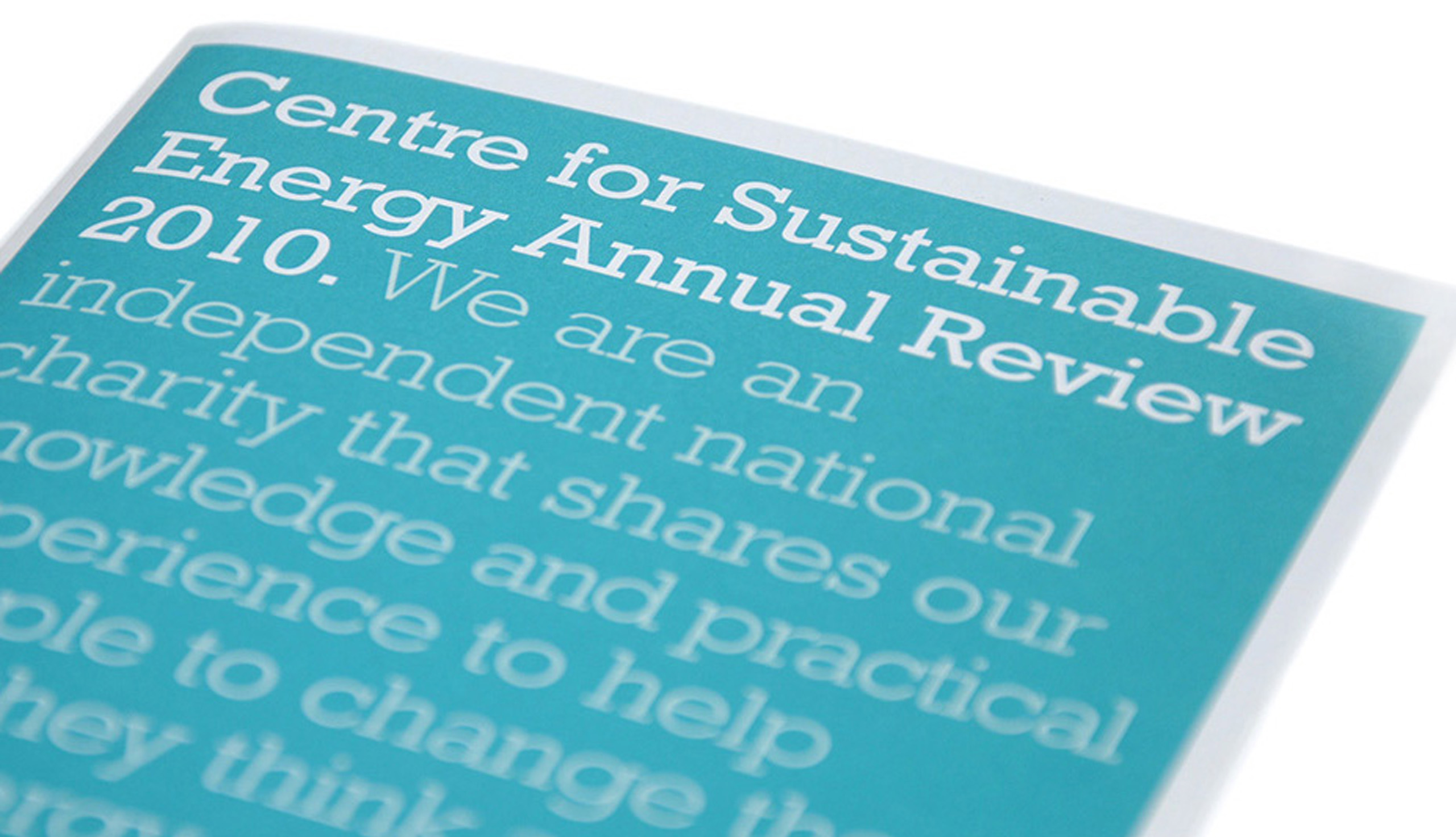 corporate identity, brand creation and development, CSE Annual Report cover design