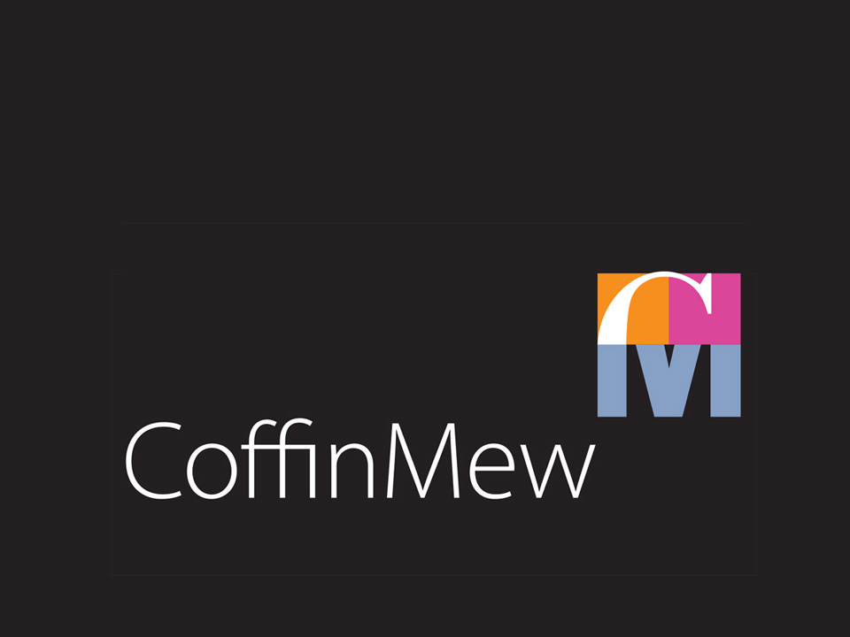 Coffin Mew logotype, corporate identity for the legal profession