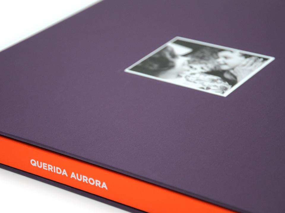 Slip case and spine design, Querida Aurora