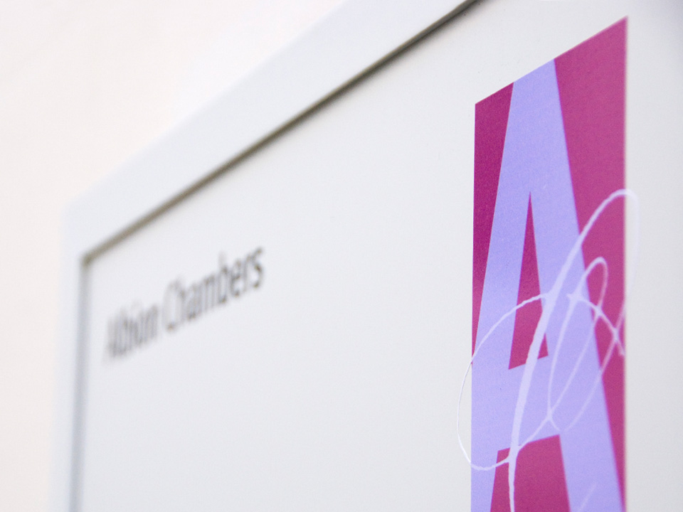 Albion Chambers signage