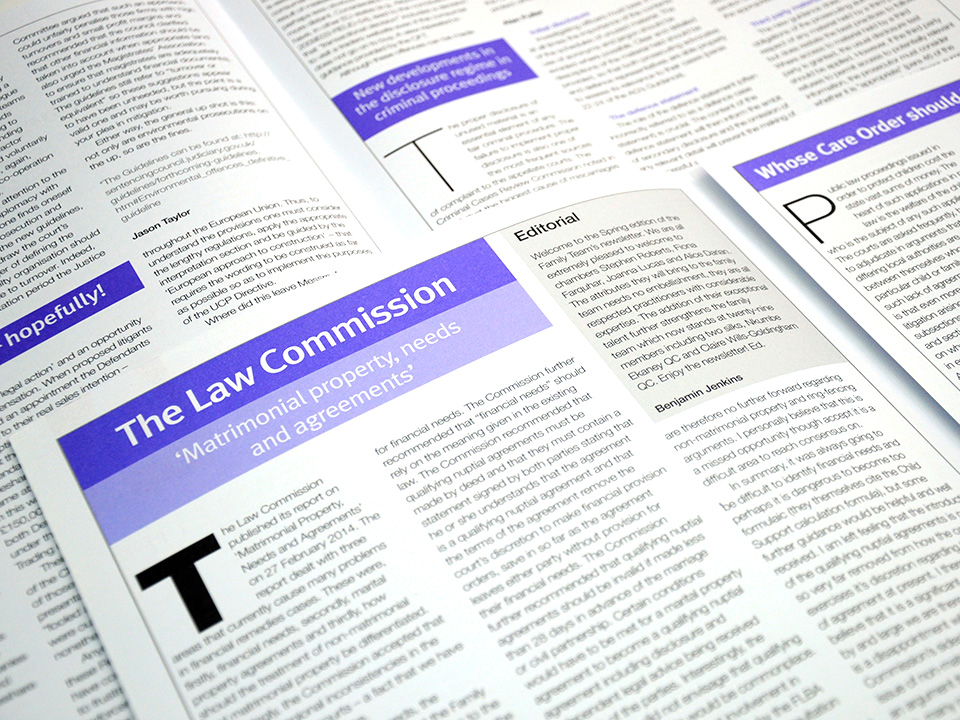 Chambers newsletters