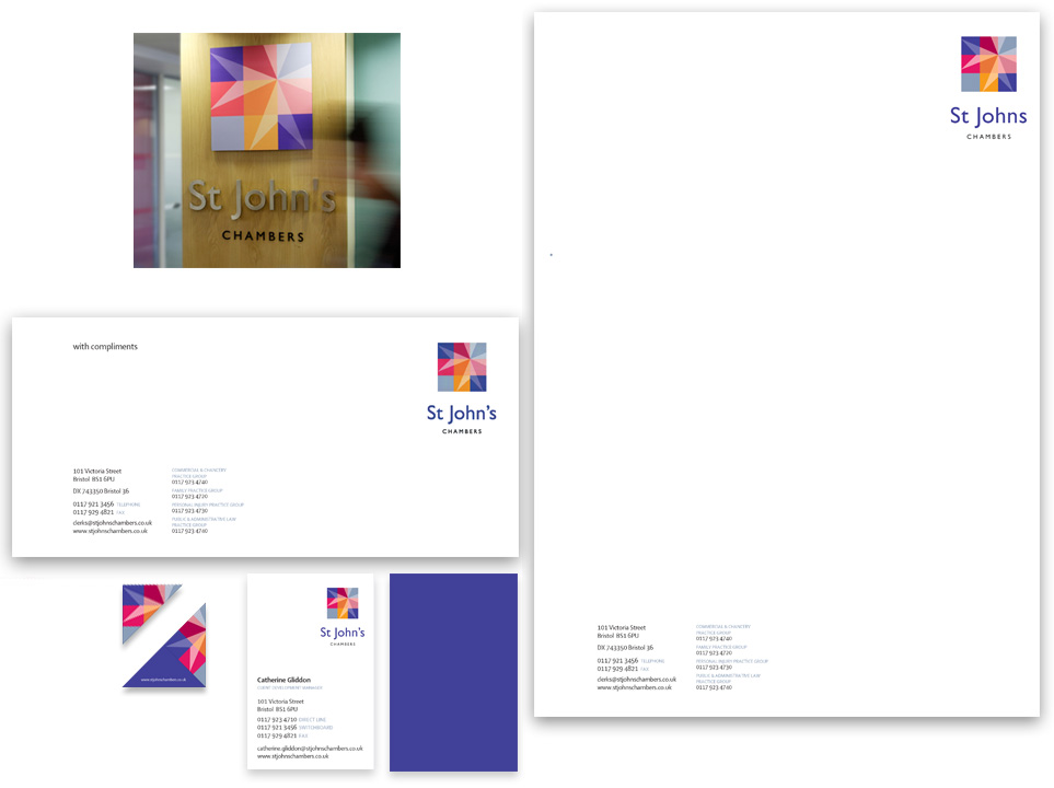 Corporate identity, stationery design and print