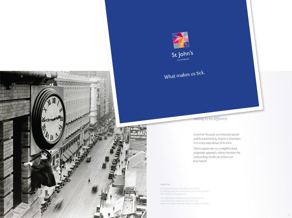 Corporate brochure, write, design and print