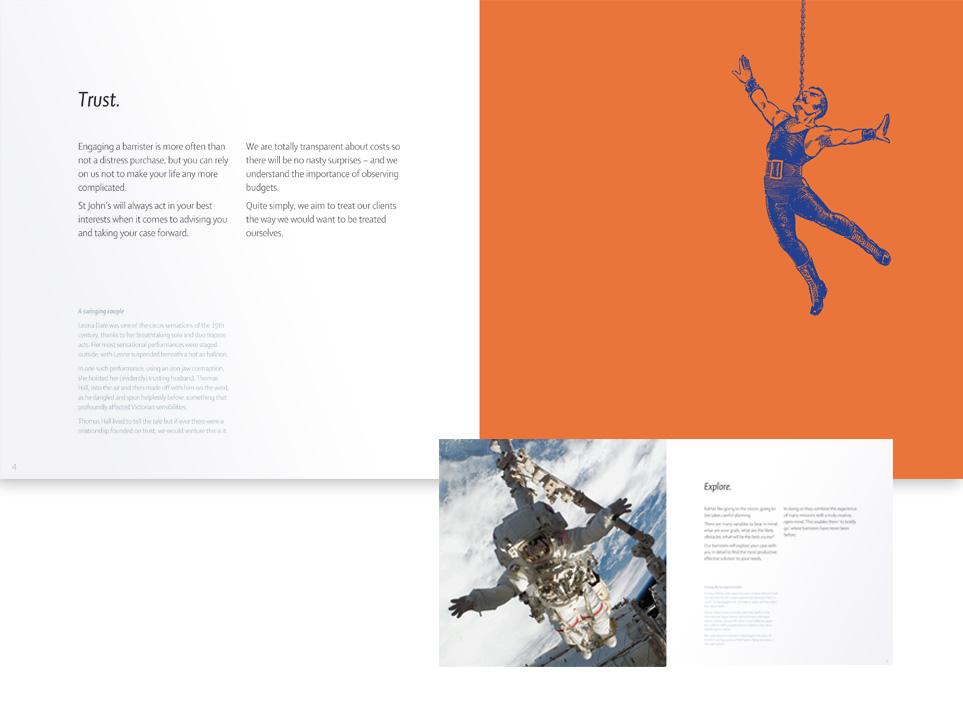 Corporate brochure design and print