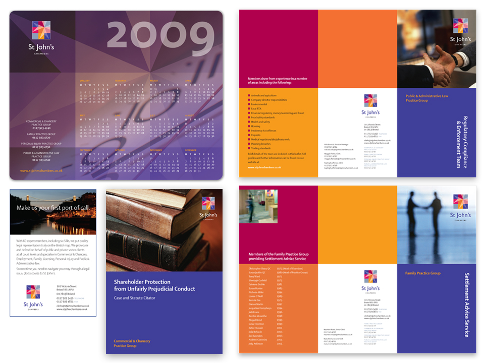 Design and print for internal comms, brand collateral and advertising