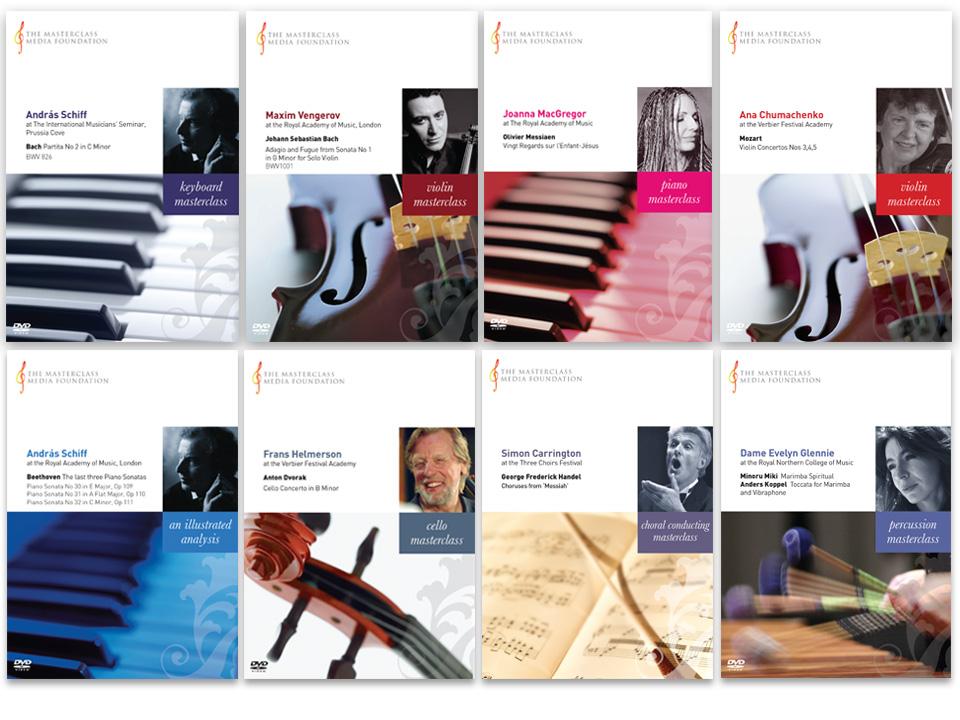 range of DVD cover designs